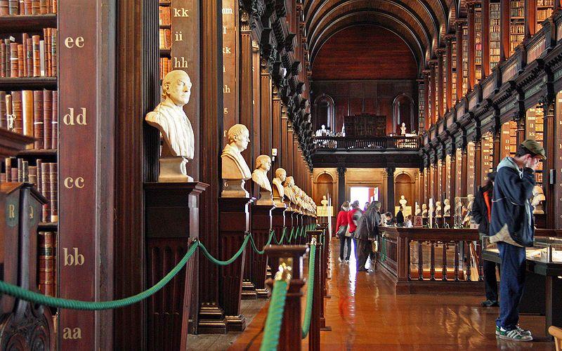 Trinity College Library Dublin Catalogue 800px Trinity College Library