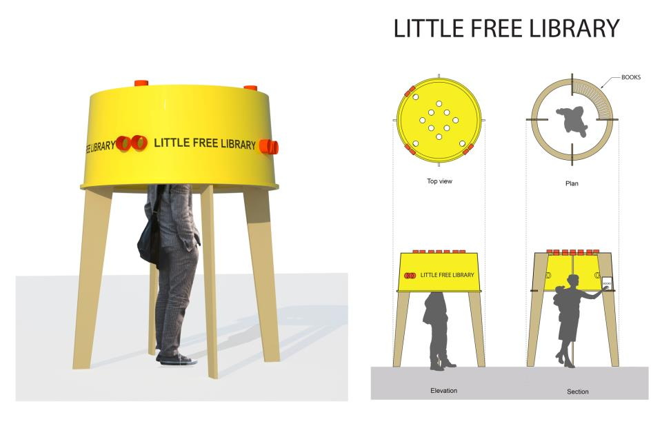 Little Free Libraries Travel Between The Pages