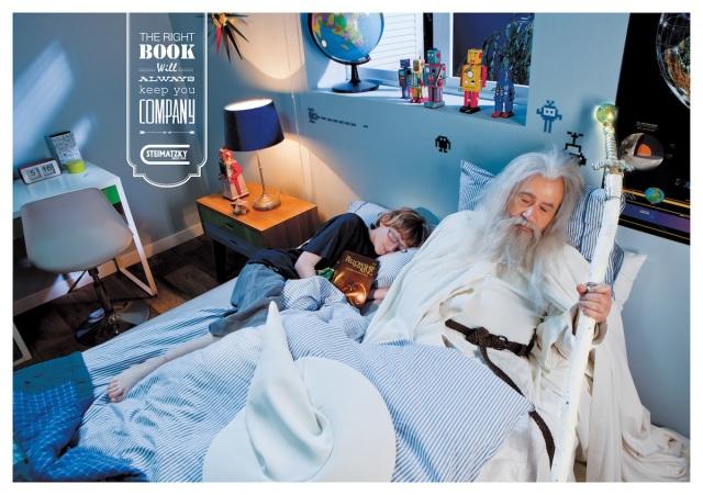 Steimatzky-ad-campaign-Gandalf