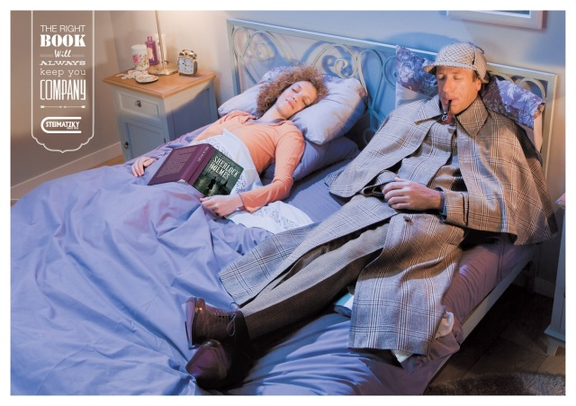 Steimatzky-ad-campaign-Sherlock-Holmes