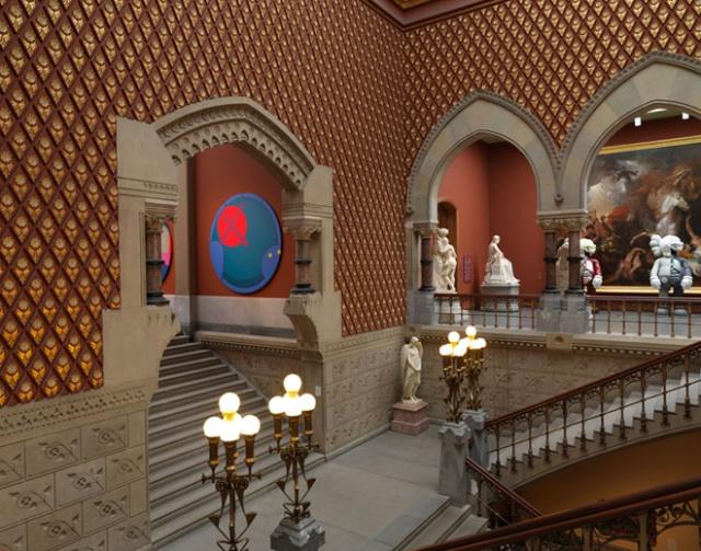 8-kawspafa-kaws-solo-exhibition-at-pennsylvania-academy-of-fine-arts
