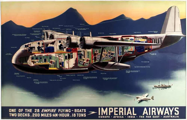 British Aviation Posters, ca_ 1920s-1930s (1)
