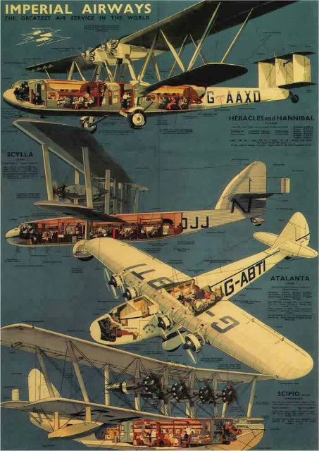 British Aviation Posters, ca_ 1920s-1930s (10)