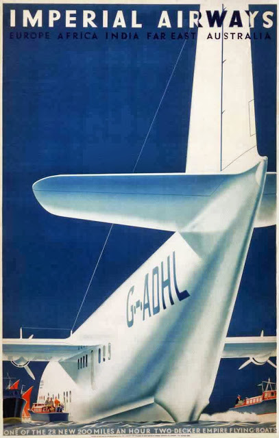British Aviation Posters, ca_ 1920s-1930s (3)