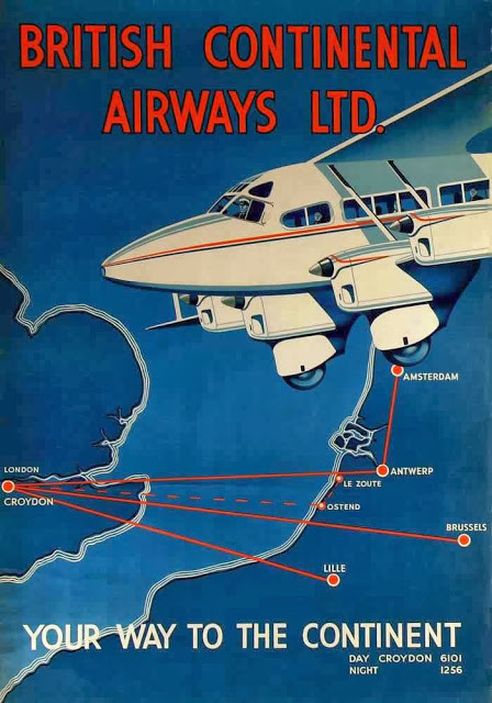 British Aviation Posters, ca_ 1920s-1930s (4)