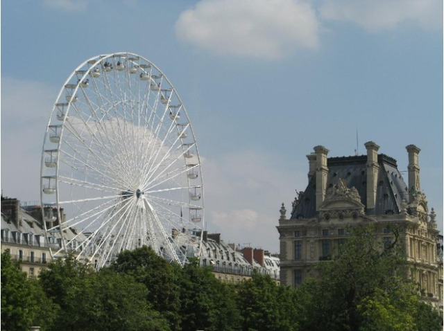 Forget the london eye travel between the pages for Plus grand jardin de paris