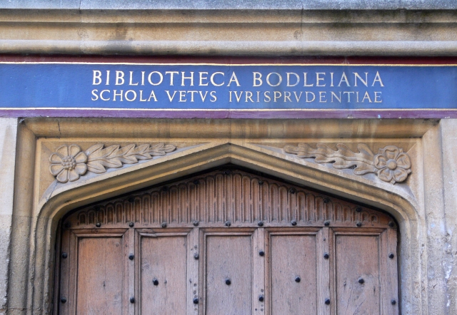 Oxford_-_Bodleian_Library_-_inscription_on_the_door