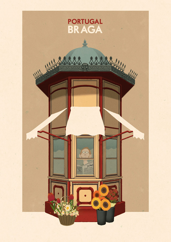 Portuguese-travel-posters-by-Rui-Ricardo