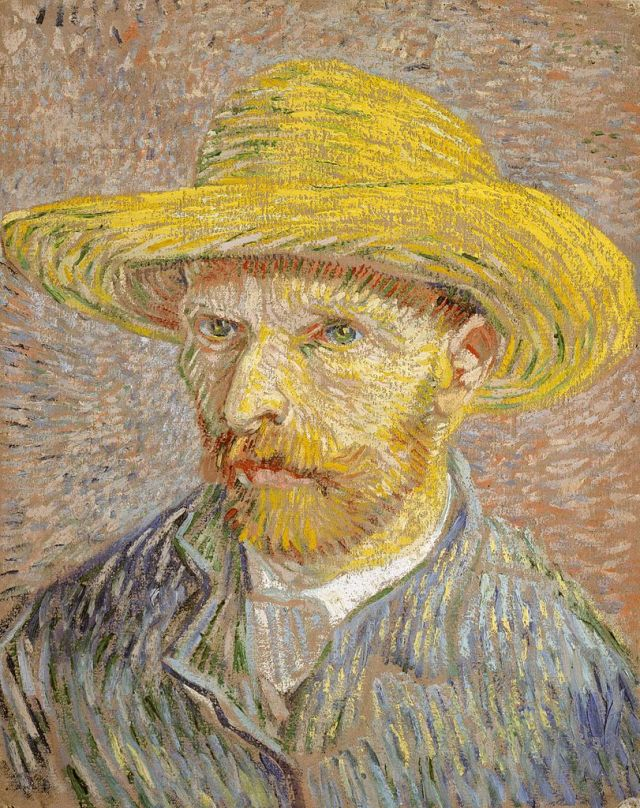 811px-Van_Gogh_Self-Portrait_with_Straw_Hat_1887-Metropolitan