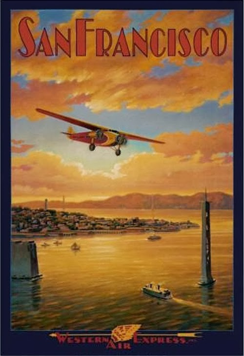 Vintage San Francisco Travel Posters (13)