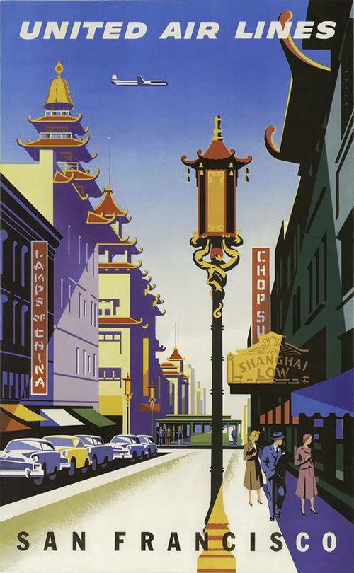Vintage San Francisco Travel Posters (16)