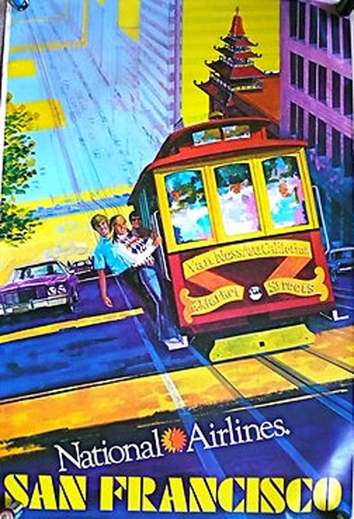 Vintage San Francisco Travel Posters (24)