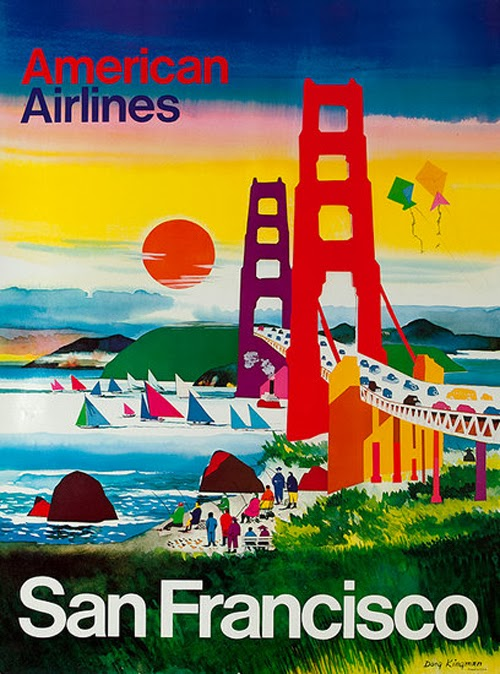 Vintage San Francisco Travel Posters (3)