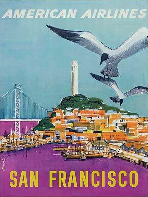 Vintage San Francisco Travel Posters (6)
