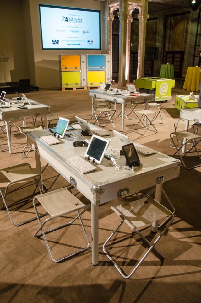 Ideas Box at New York Public Library