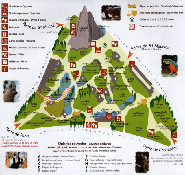Parc-Zoologique-de-Vincennes-Map
