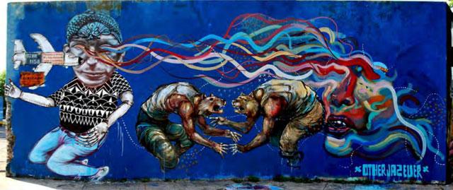 Castillo-mural