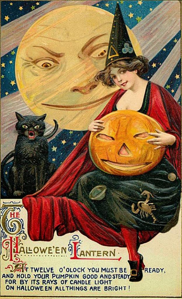 Vintage Halloween Postcards (12)