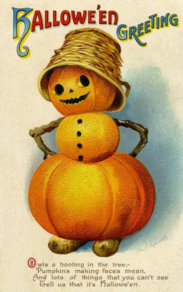 Vintage Halloween Postcards (18)