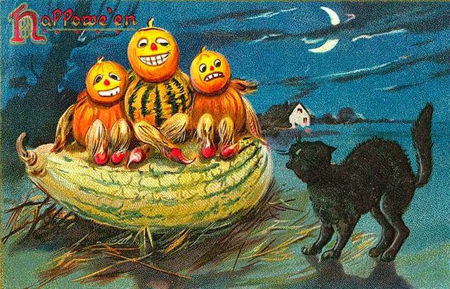 Vintage Halloween Postcards (2)