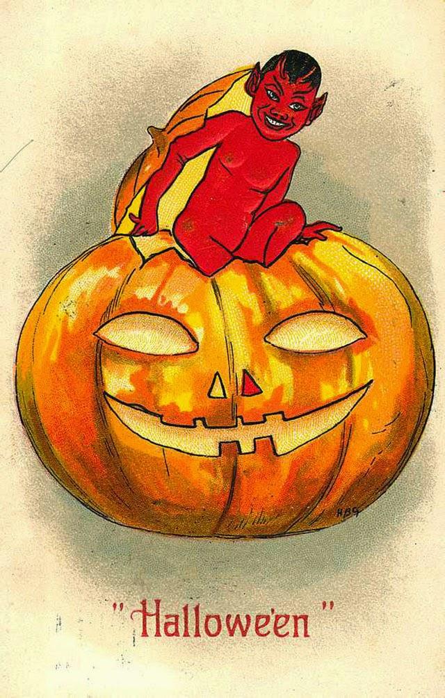 Vintage Halloween Postcards (8)