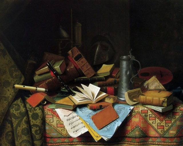 Kitchen-Still-Life-with-Books