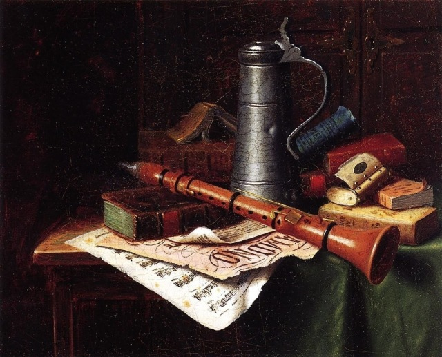 1883. Still Life with Clarinet