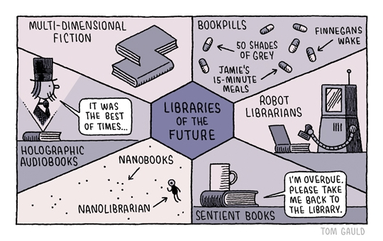 Libraries-of-the-future-cartoon-by-Tom-Gauld