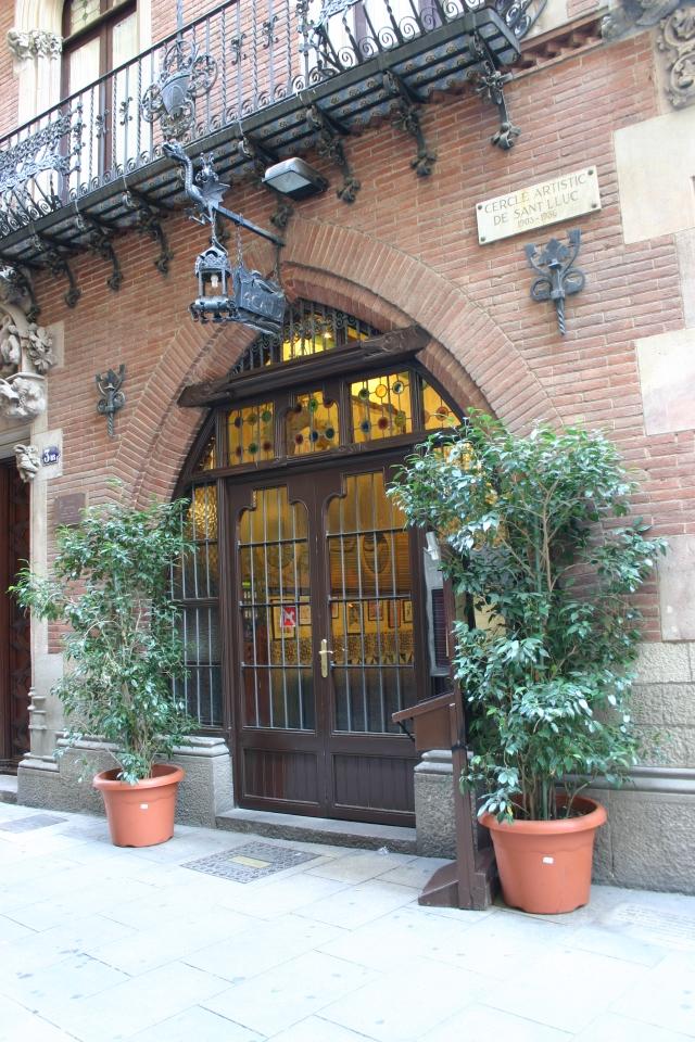Puig_i_Cadafalch_Casa_Martí_4Gats_Barcelona_Entrada