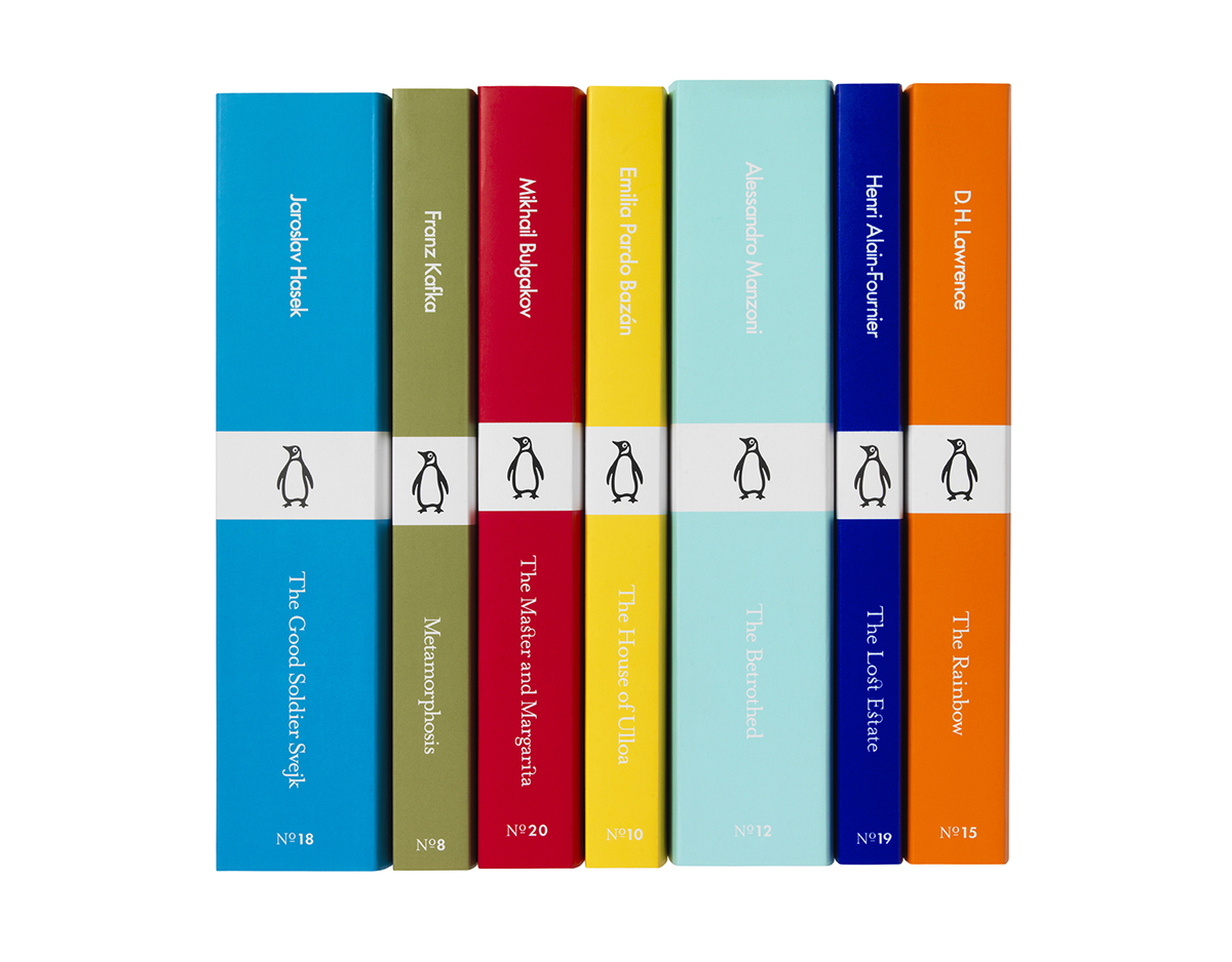 Book color palette - This Spring Penguin Will Begin Reissuing Titles From Its Classics Series With Cover Designs In A Bold New Color Palette The Minimalist Format Will