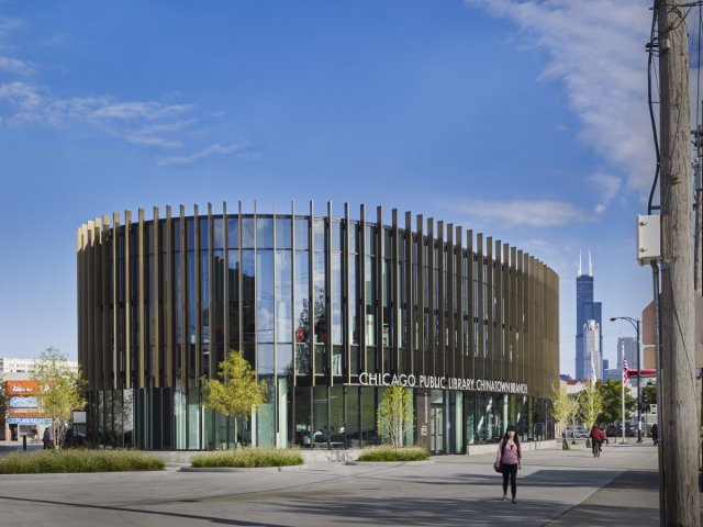 Chicago Public Library, Chinatown Branch