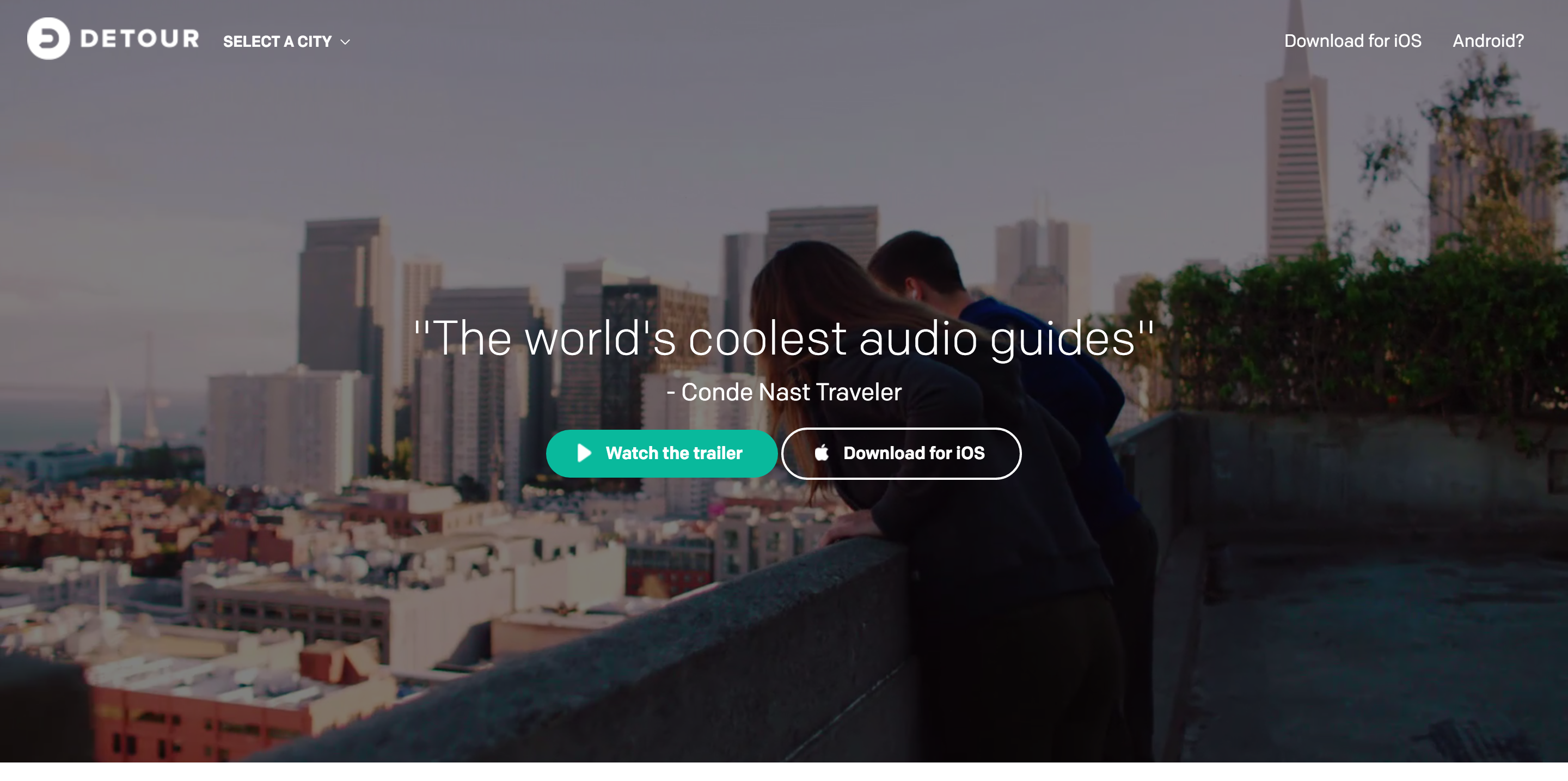 Audio Tour App London