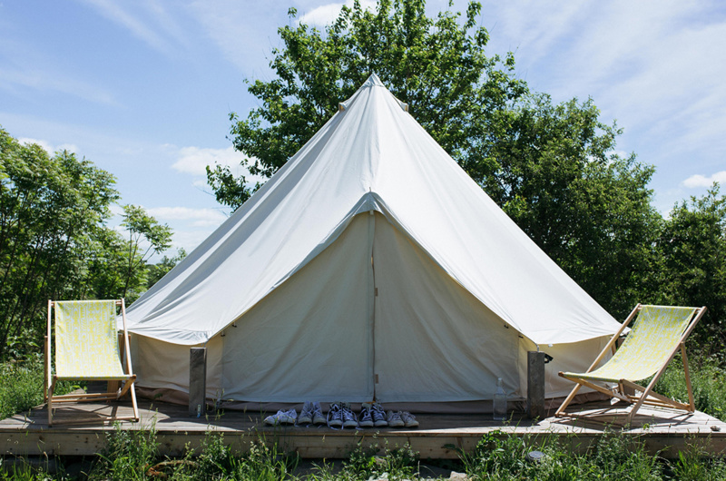 Glamping In Jersey Channel Islands
