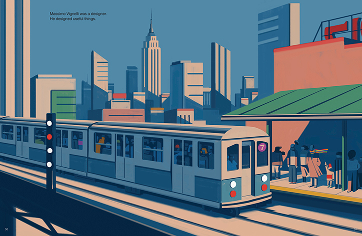 Nyc Subway Map Author Emiliano Ponzi.The Great New York Subway Map Travel Between The Pages